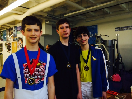 Our Y14 Men's Epee Medalists! Congratulations