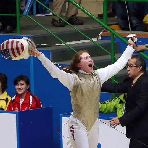 Sylvie Binder finished on the podium at the Cadet Worlds! Sounds like reason to celebrate to us!